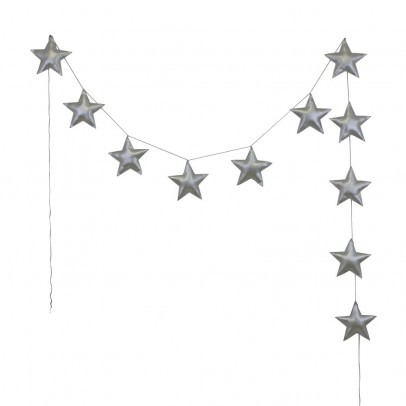 Numero 74 Mini stars garland - silver-product