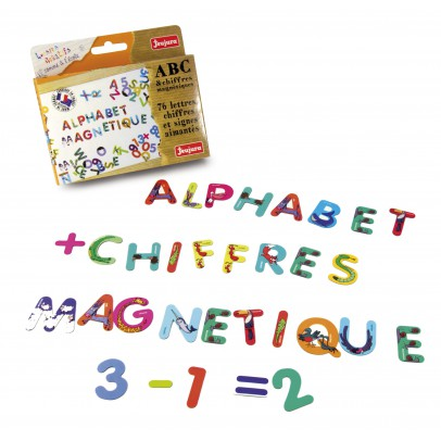 Jeujura Magnetic ABC & numbers-listing