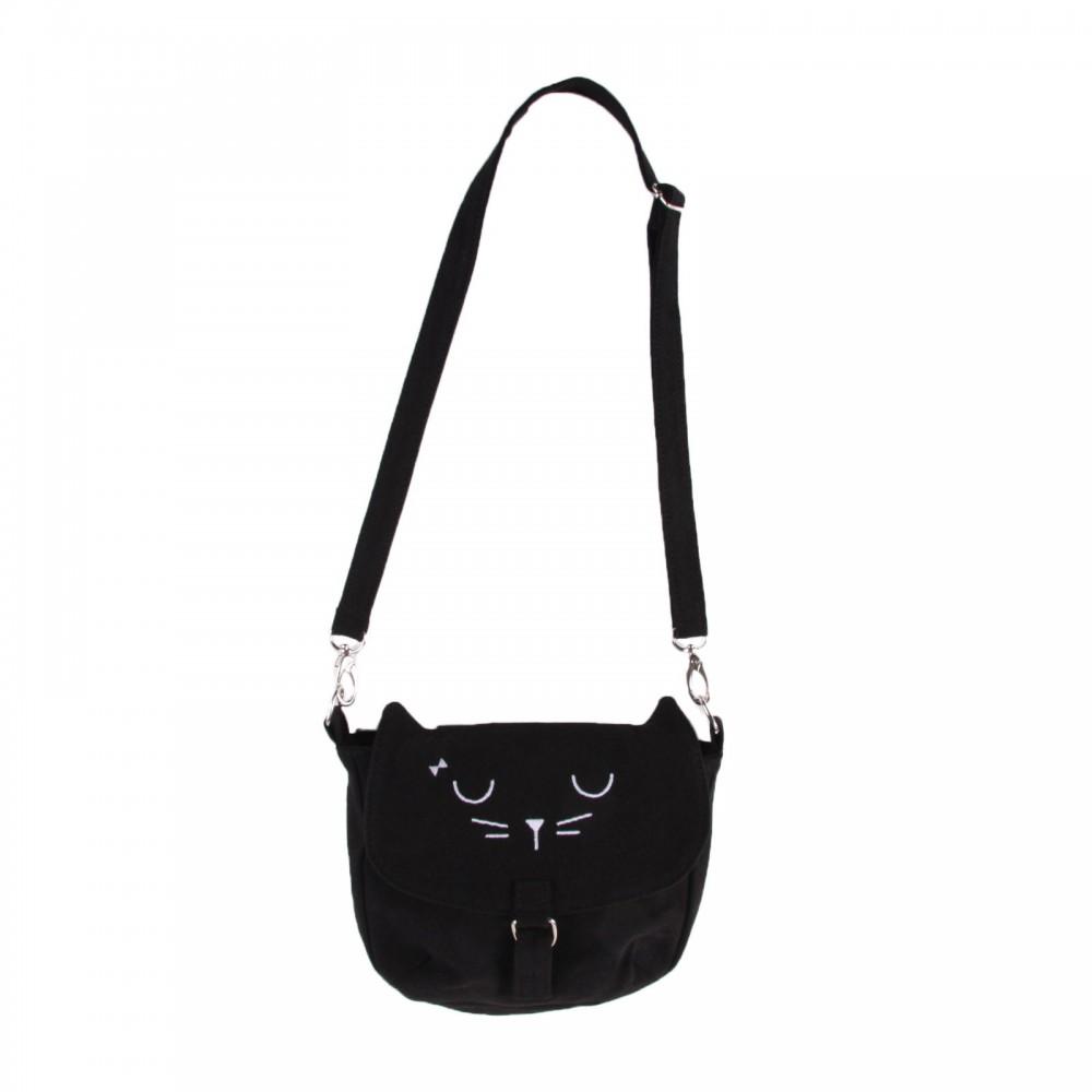 borsa gatto nero