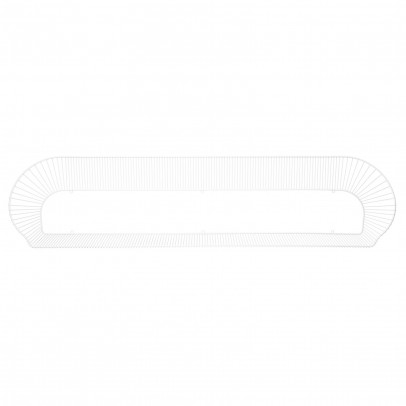 Petite friture Loop shelf - white-listing