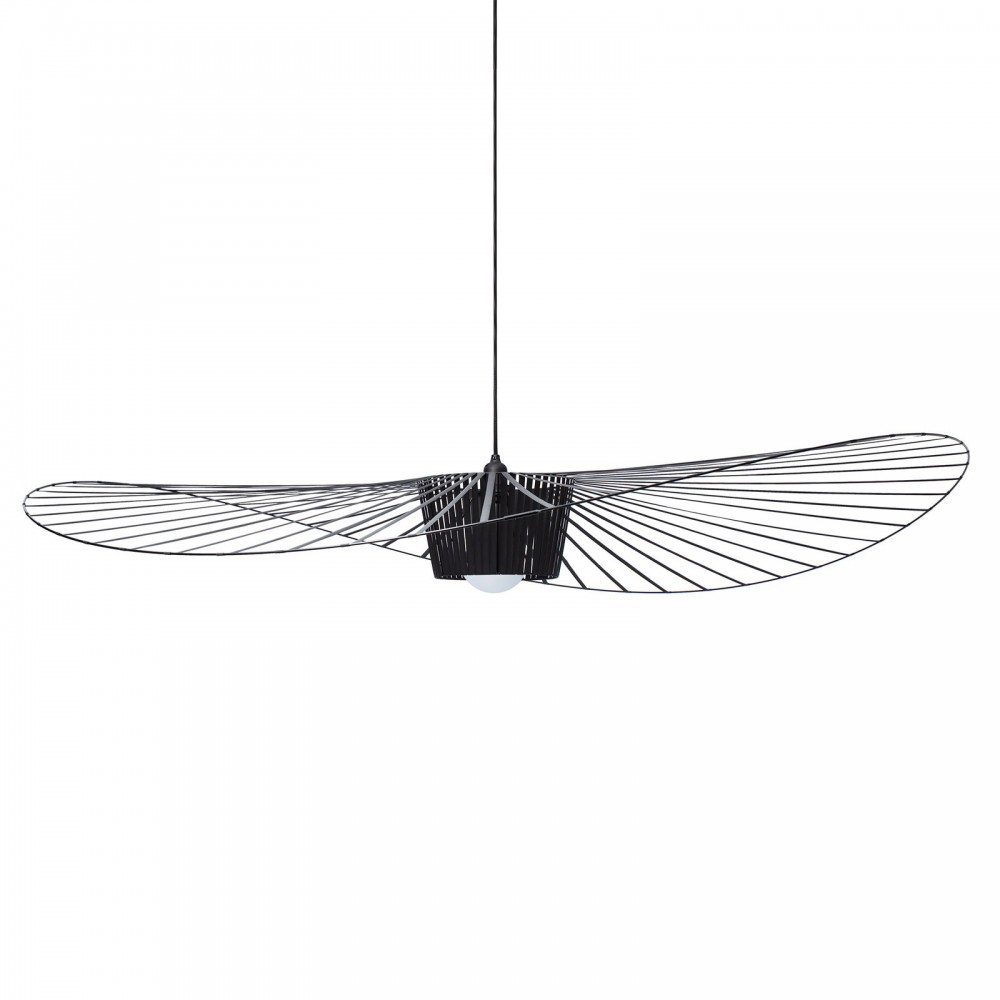 Suspension vertigo noir petite friture design adulte - Suspension style vertigo ...