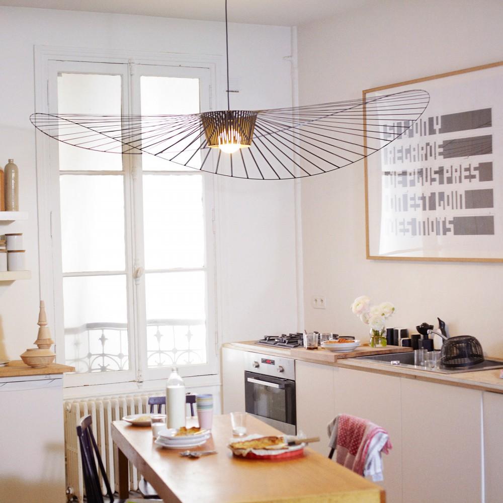 suspension vertigo noir petite friture design adulte. Black Bedroom Furniture Sets. Home Design Ideas