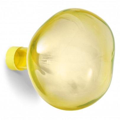 Petite friture Bubble large glass hook - Yellow-listing