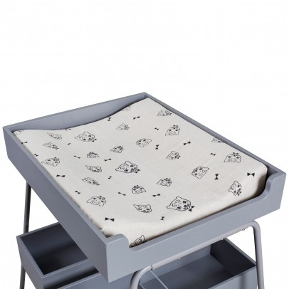 Budtzbendix Changing mat Changing Tower - grey-listing