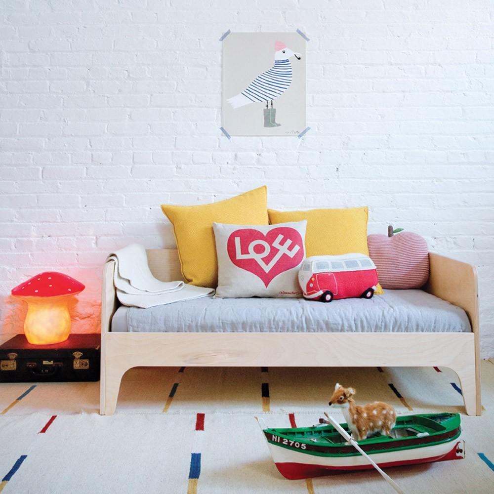 lit banquette enfant perch bouleau oeuf nyc design enfant. Black Bedroom Furniture Sets. Home Design Ideas