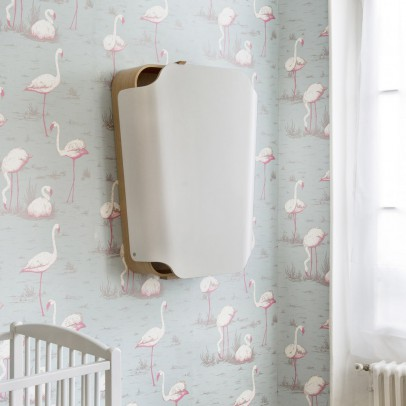 Charlie Crane Changing table - Gentle White-listing