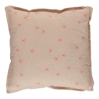 Sweetcase square cushion - red bird-listing