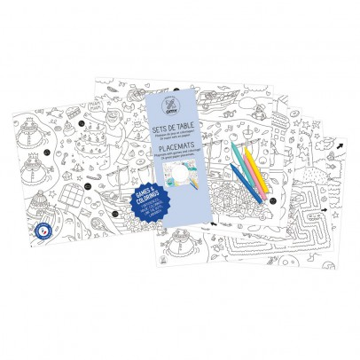 Omy Colouring Placemat - Games-listing