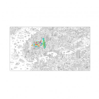 Omy Giant New York Colouring Poster-listing