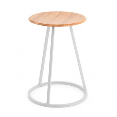 Hartô Gustave stool - light grey-listing