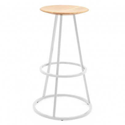 Hartô Gustave high stool - light grey-listing