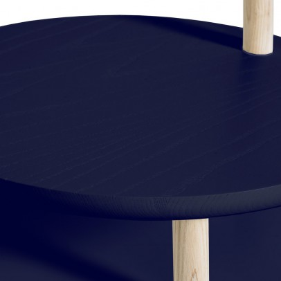 Hartô Josette lamp and table in one - navy blue-listing