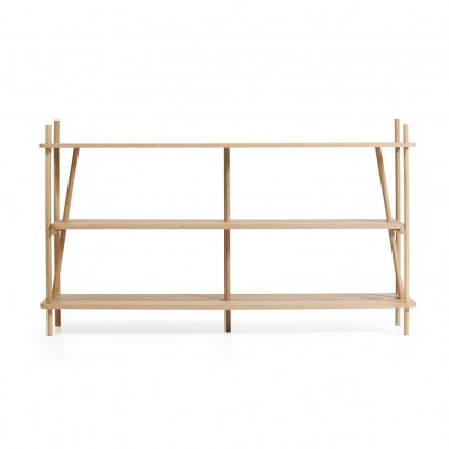 Hartô Simone bookcase - natural oak-listing