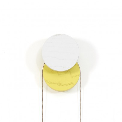 Hartô Lou hooks - light grey and yellow-product