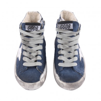 Golden Goose Deluxe Brand Baskets Suede Zip Francy-listing