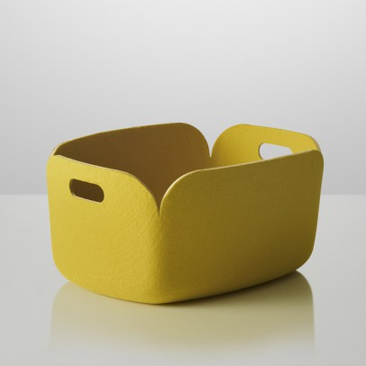 Muuto Storage Basket - Yellow-listing