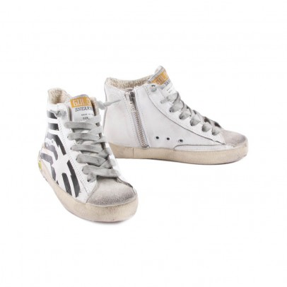 Golden Goose Deluxe Brand Baskets Cuir Zip Francy-listing