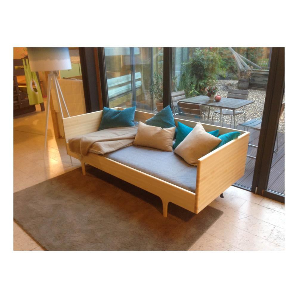natural caravan single bed x cm natural kalon studios design - natural caravan single bed x cmproduct