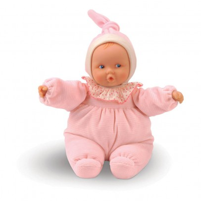 Corolle Babypuppe-Babipouce-gestreift-rosa-listing