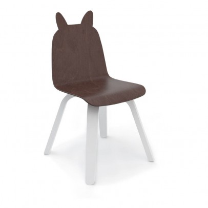 Oeuf NYC Rabbit Walnut Play Chairs - Set of 2-product