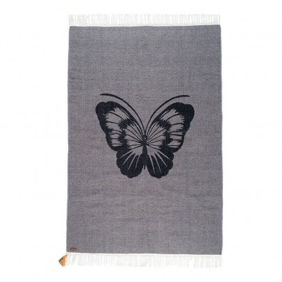 Varanassi Coton Gypsy rug - Butterfly-listing