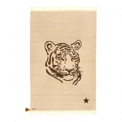 Varanassi Gypsy Cotton Rug - Tiger-listing