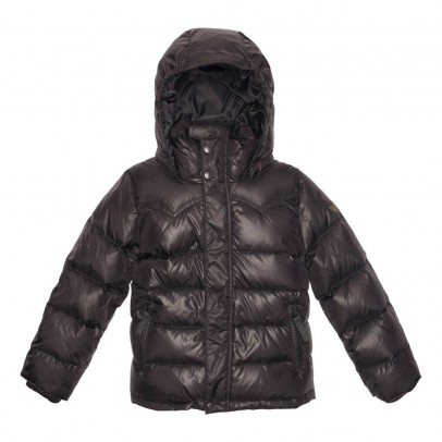 Finger in the nose Snowslope Hooded Down Jacket-listing