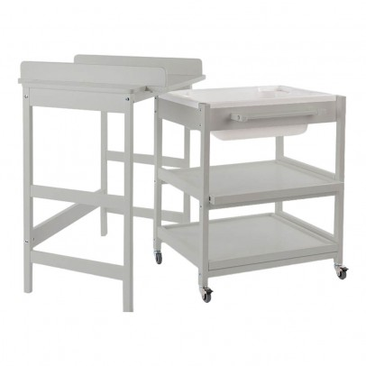 Quax Comfort Smart Changing Table with Bathtub-listing