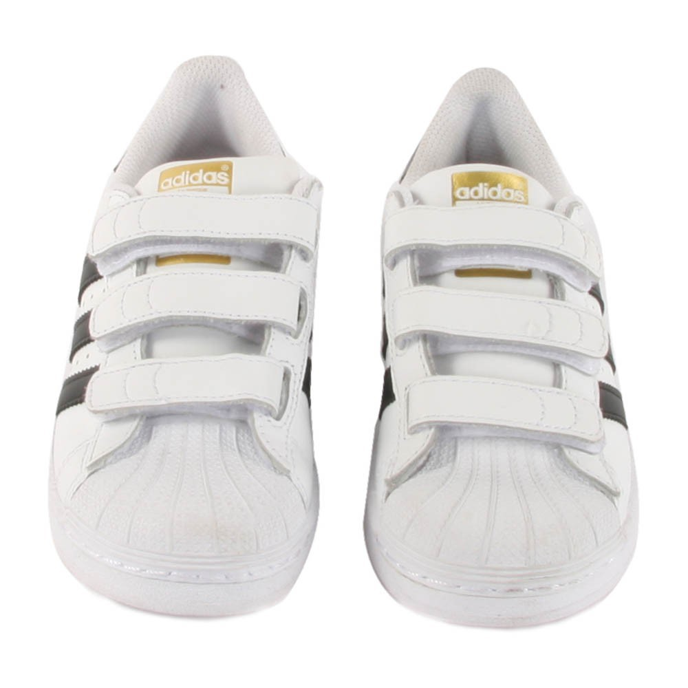 fe79960c5330e basket adidas scratch adulte · basket adidas scratch adulte · Baskets Cuir  Scratchs Superstar Noir Noir - Doré - Blanc .. ...