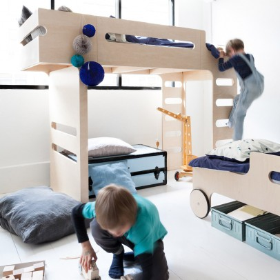 Rafa Kids Hochbett Doppelleiter Funk Bed Listing