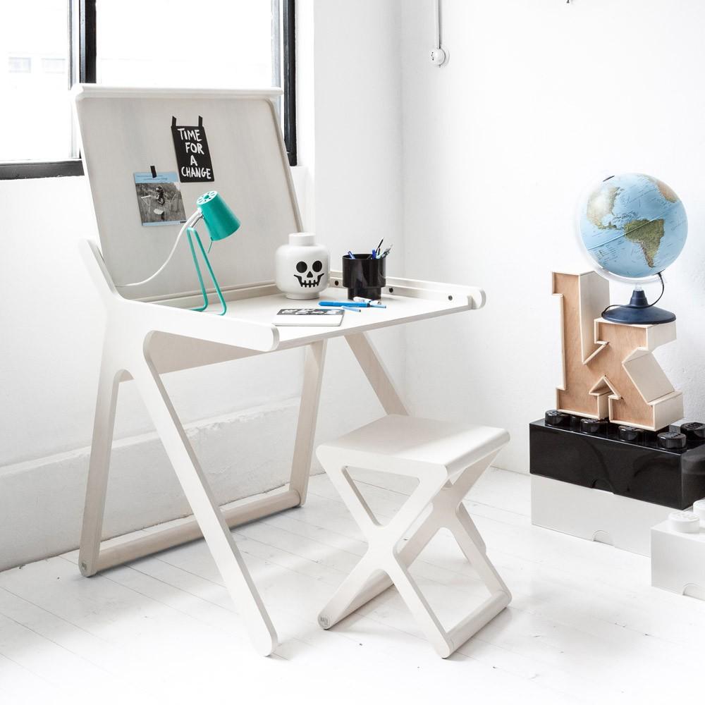 schreibtisch k desk weiß rafa kids design kind, Möbel