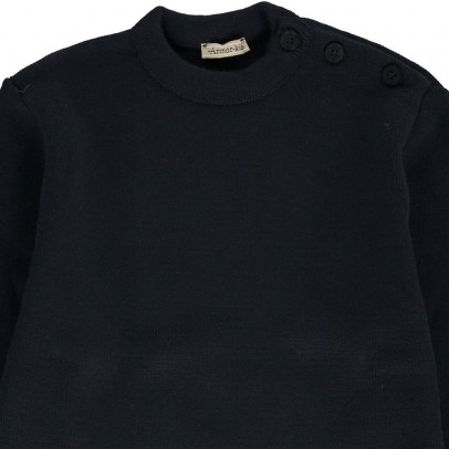 Armor Lux Fouesnant Plain Jumper-listing