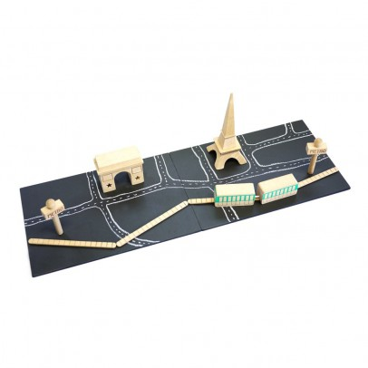 Kiko+ Machi Paris Magnetic Wooden Game-listing