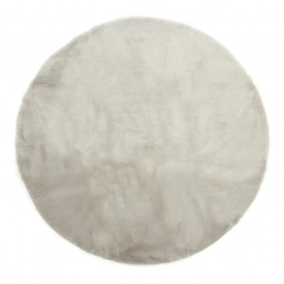Pilepoil Round carpet - Light grey-listing