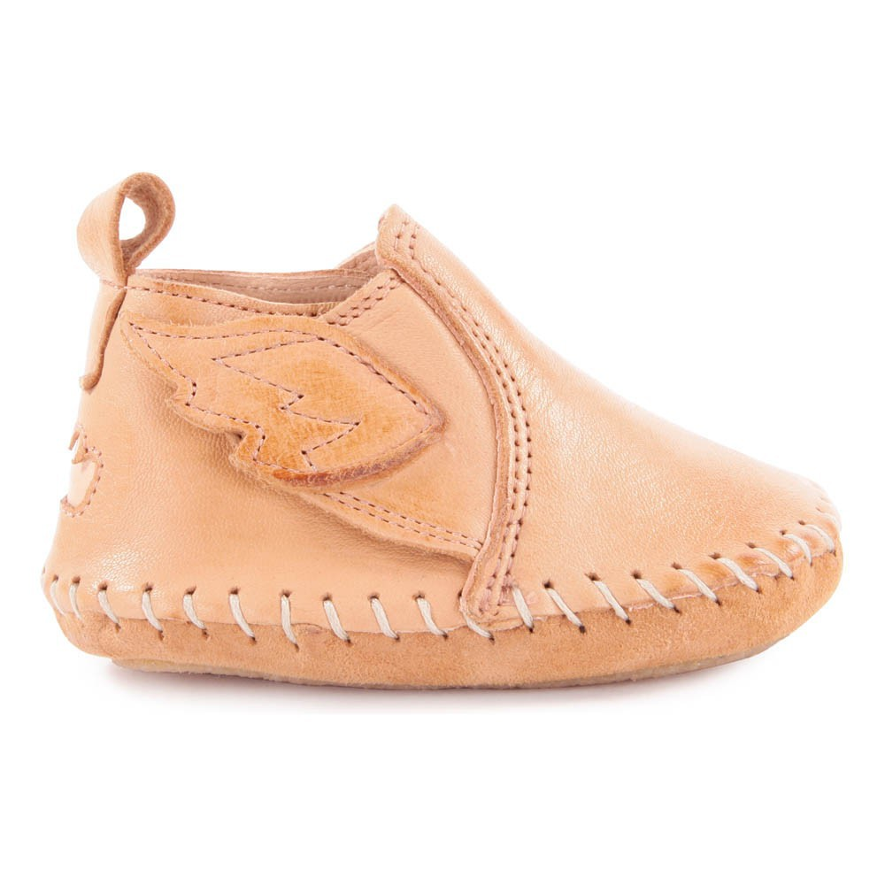 Chaussons Cuir Scratch Ailes BomokEasy Peasy 4TfXYK4