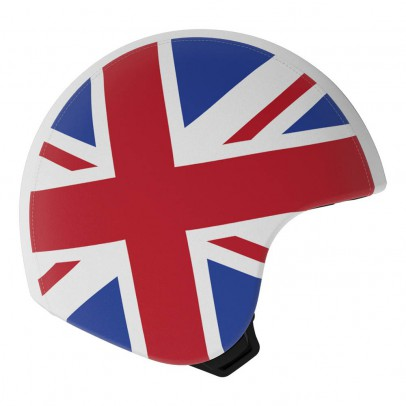 Egg Union Jack Helmet Cover-listing