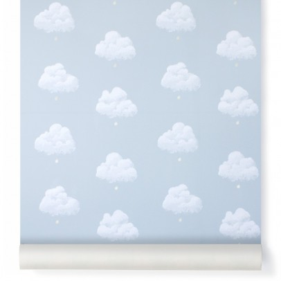 Bartsch Cotton clouds wallpaper - smoky blue Blue-listing