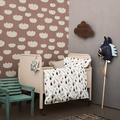Ferm Living Kids Papier peint Cloud - Rose-listing