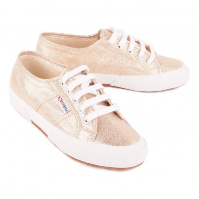 Superga 2750 Cotu Shiny Lace-up Trainers-listing