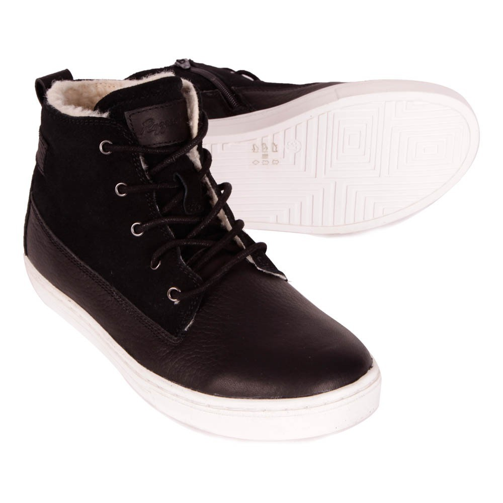 Sale - New Cup Joe Fur Leather Mid Trainers - Rugged Gear Rugged Gear iczdi