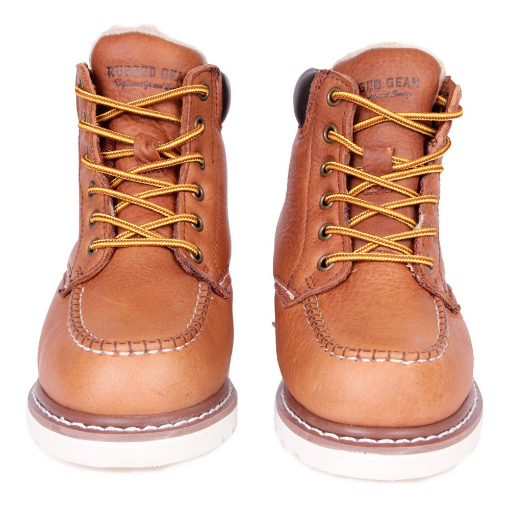 Boots Lacets Cuir - Rugged Gear ypdTyw