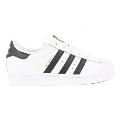 Adidas Superstar Black Lace-up Trainers-listing
