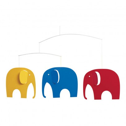 Flensted Giostrina culla Elephant Party-listing