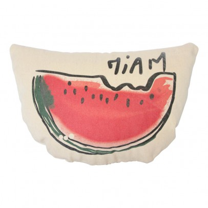 Annabel Kern Miam Watermelon Cushion-listing