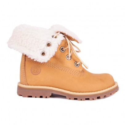 Timberland WP Fur Lace-up Boots-listing