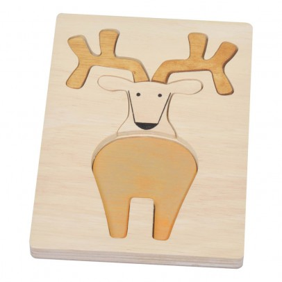 Bass & Bass Puzzle relief cerf-listing