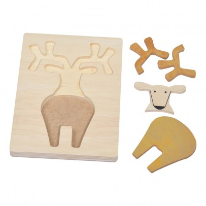 Bass & Bass Puzzle relief cerf-product