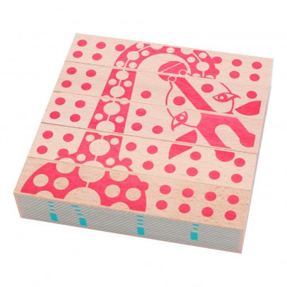 Les Jouets Libres Animal Blocks	-listing