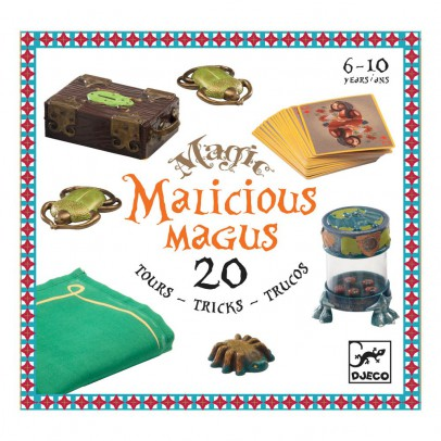 Djeco Coffret 20 tours Malicious magus-listing