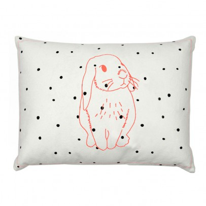Sale - Pink Rabbit Drawstring Bag - MIMIlou Mimilou